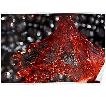 Red Liquid 3 Poster