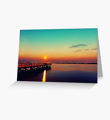 Sunglow Greeting Card