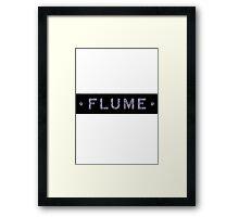Flume Camo Framed Print