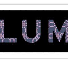 Flume Camo Sticker