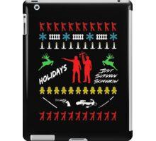 Walking Dead - Ugly Christmas sweater iPad Case/Skin