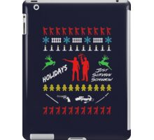 Walking Dead - Ugly Christmas sweater knitted iPad Case/Skin