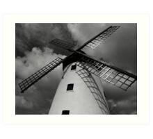Lytham Windmill Art Print