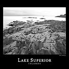 Lake Superior Islands #1 by Phil Perkins