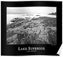 Lake Superior Islands #1 Poster