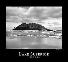 Lake Superior Islands #3 by perkinsdesigns
