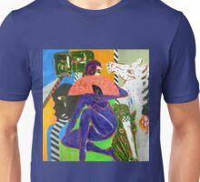 Purple Lady Unisex T-Shirt