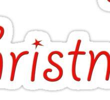 Merry Christmas B$tches Sticker