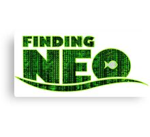 Finding Neo Canvas Print