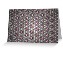 Prismatic Texture 67 Greeting Card