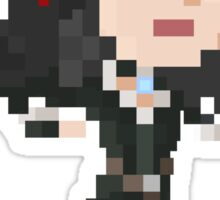 Pixel Yennefer - Witcher 3 Sticker