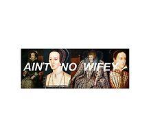ain't no wifey ft queens of history - single design by wildeyedjoker