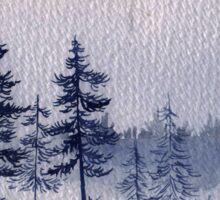 Winter Trees Sticker