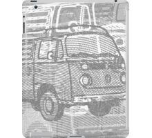 Grey Bay Campervan Montage iPad Case/Skin