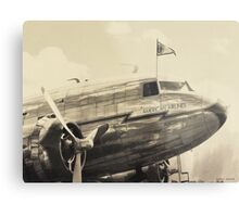 American Airlines Flagship Detroit Metal Print