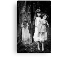 The Old Doll Canvas Print