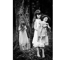 The Old Doll Photographic Print
