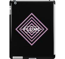 Flume psy - black iPad Case/Skin