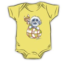 Bichon Frise Puppy Special Delivery One Piece - Short Sleeve