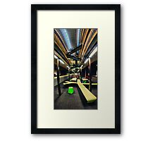 Tyree Energy Technologies Building UNSW. Interior Framed Print