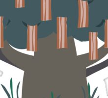 Bacon Tree Sticker