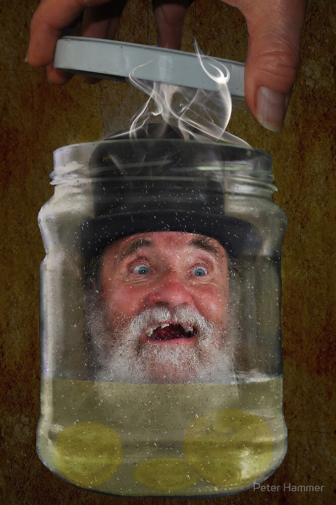 Bottled Laughter by Peter Hammer