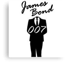 James Bond || OO7 Canvas Print