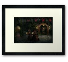 Fantasy - Into the night Framed Print