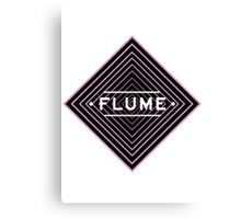 Flume psychedelic - white Canvas Print