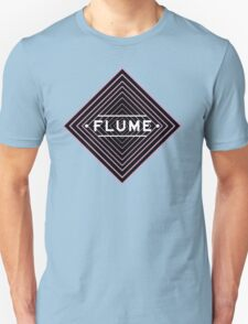 Flume psychedelic - white Unisex T-Shirt