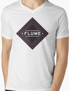 Flume psychedelic - white Mens V-Neck T-Shirt