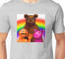 Paint the whole world with a rainbow. Unisex T-Shirt