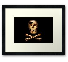 Fantasy - Pirate Flag - I'm a mighty pirate Framed Print