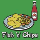 Fish 'n' Chips by Rodrigo Marckezini
