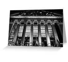 New York Stock Exchange - NYSE Greeting Card