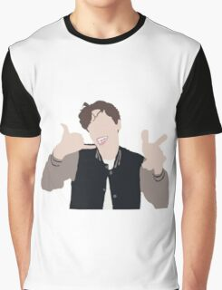 "Matthew Gray Gubler ""call me"" Graphic T-Shirt"