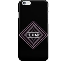 Flume spychedelic - Black iPhone Case/Skin