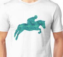 Teal Showjumper Unisex T-Shirt