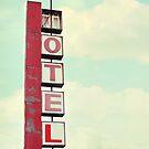 vintage motel by beverlylefevre