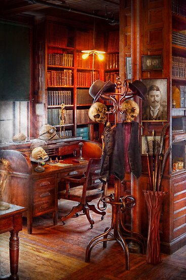 Macabre - In the Headhunters study by Mike  Savad