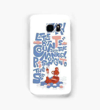 Monkey does his part Samsung Galaxy Case/Skin