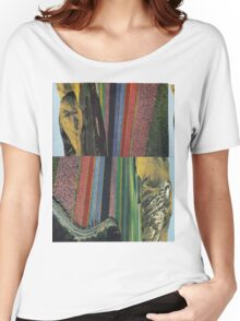 Striped Landscape Women's Relaxed Fit T-Shirt