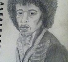 Jimi himself by Purplesunset3