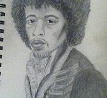 Jimi himself by Purplesunset3