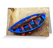 Lewis: Sgoth Niseach - Ness Boat  Greeting Card