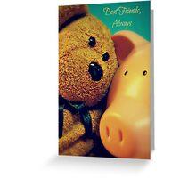 Best Friends, Always Greeting Card