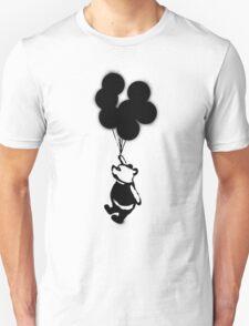 Flying Balloon Bear T-Shirt