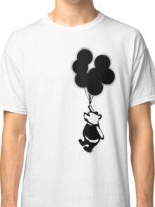 Flying Balloon Bear - Off Center Version Classic T-Shirt