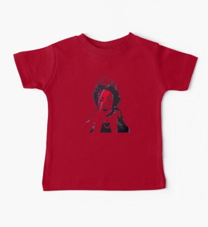 God Save The Queen Stencil Baby Tee