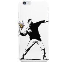 Rage Flower Bomber Stencil iPhone Case/Skin